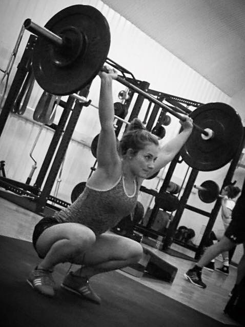 Tanya Weight Lifting